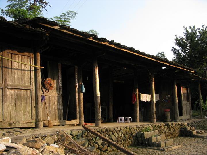 泉洲—古朴的房子